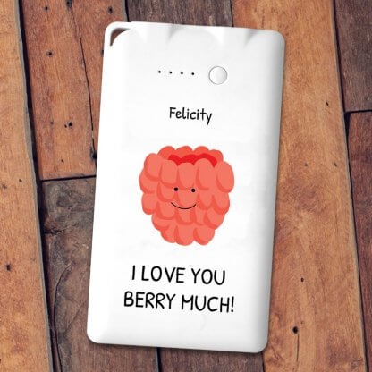 Berry much pun powerbank