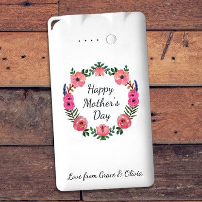 Mothers day message powerbank