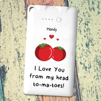 Tomatoes joke powerbank