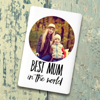 Best mum in the world Credit Card Powerbank