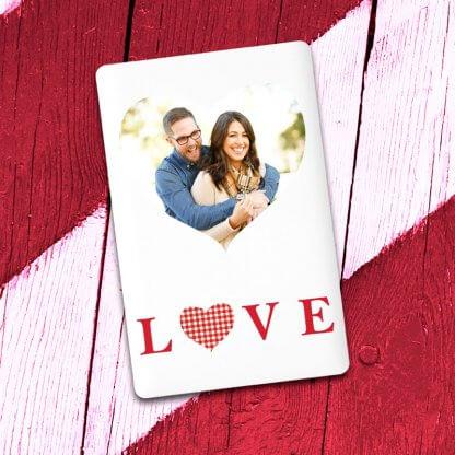 Love Heart design Credit Card Powerbank