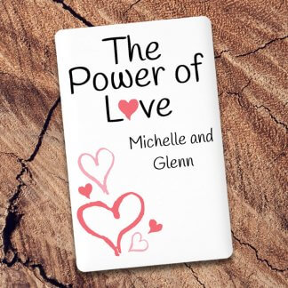 Power of love credit card powerbank