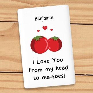 Tomatoes pun credit card powerbank