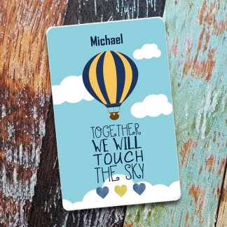 Touch the sky balloon credit card powerbank