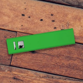 Cuboid Metal Powerbank Green