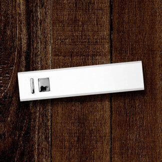 Cuboid Metal Powerbank White