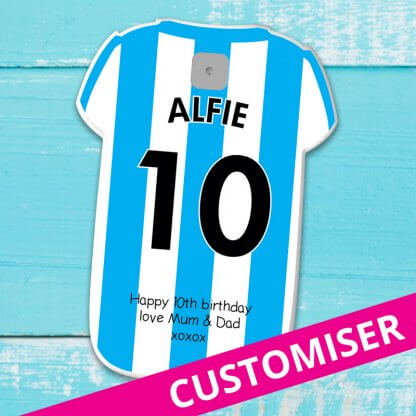 Customised football shirt powerbank