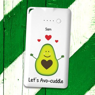 Avocuddle Flat Powerbank