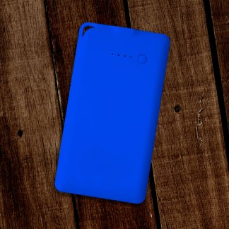 Flat Powerbank Blue