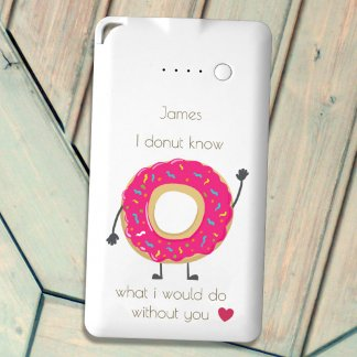 Donut flat powerbank