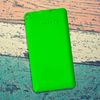 Flat Powerbank Green