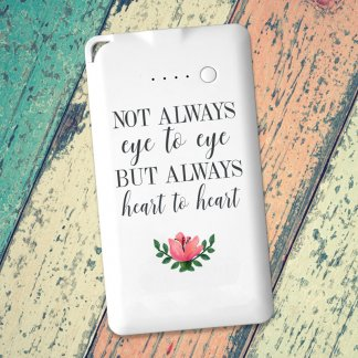 Heart to heart message powerbank
