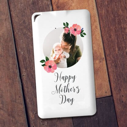 Happy mothers day photo powerbank