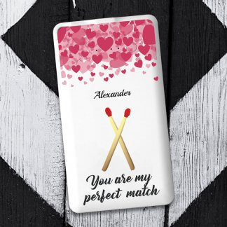Perfect match flat powerbank