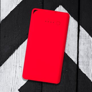 Flat Powerbank Red