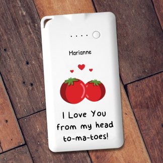 Tomatoes pun powerbank