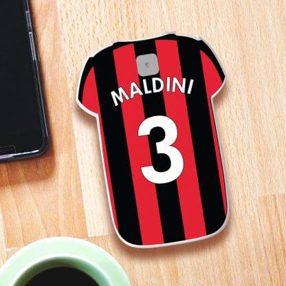 Paolo Maldini Milan Shirt Powerbank