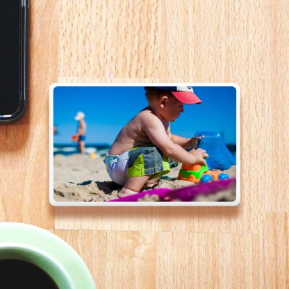 Family Holiday Photo Personalised Powerbank