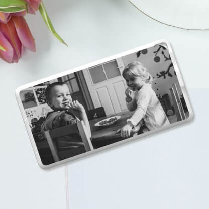 Custom Photo Family Flat Powerbank