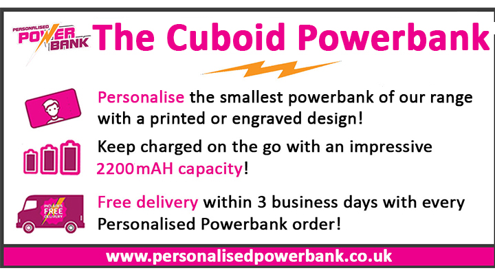 cuboid powerbank