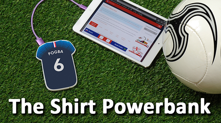 Our football shirt Powerbank